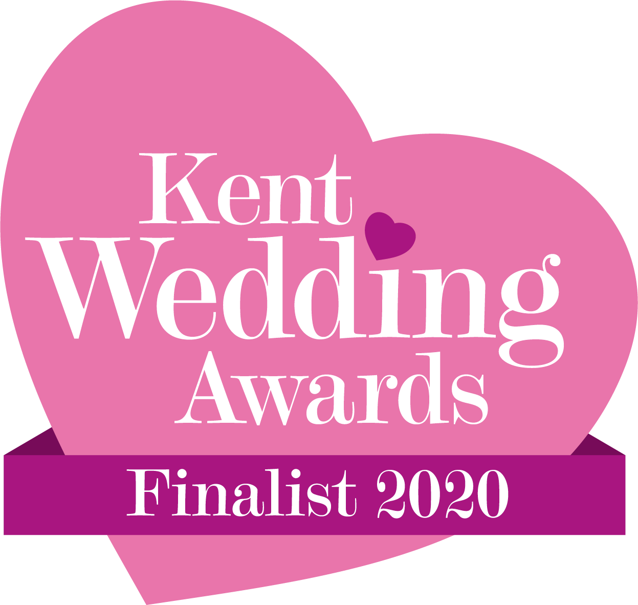 Kent Wedding Awards Finalist 2020